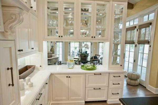 Glass-kitchen-cabinet-door-white-style
